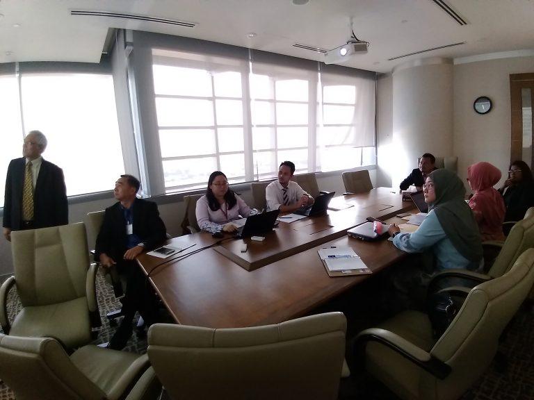 1.MEETING WITH SECRETARY GENERAL MITI YBHG. DATO_ LOKMAN HAKIM ALI