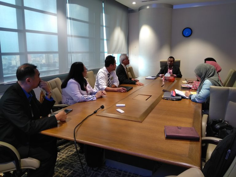 3.MEETING WITH SECRETARY GENERAL MITI YBHG. DATO_ LOKMAN HAKIM ALI