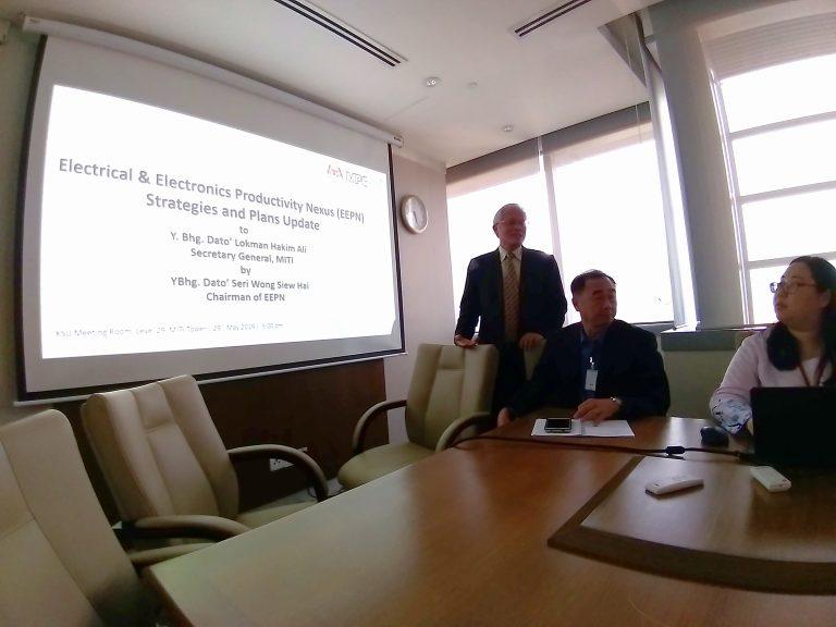 7.MEETING WITH SECRETARY GENERAL MITI YBHG. DATO_ LOKMAN HAKIM ALI